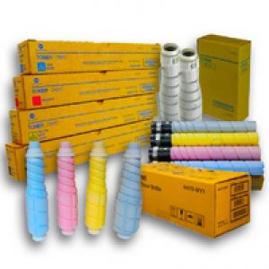 Konica Minolta or Develop We buy used empty toner bottle, Drum, Fuser, Transfer belt